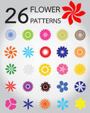 vectors of  flower pattern Stock Image