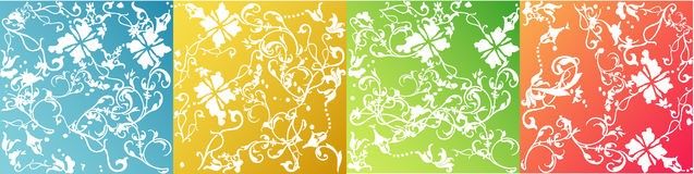 Vectors style backgrounds Stock Image