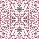 Vectorseamless pattern with stylised flowers Ornate seamless pattern background royalty free illustration