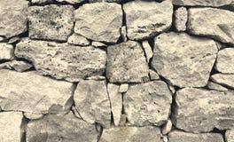 Vectorspoor van oude steenmuur De achtergrond van de textuur vector illustratie