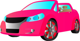 Vectorsportwagen Royalty-vrije Stock Afbeelding