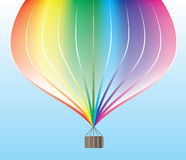 Vectort air balloon Stock Images
