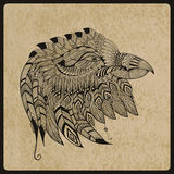 Vectortatoegering Eagle Head Stock Foto's