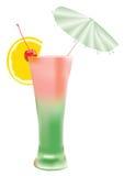 Vectortekening van cocktail stock illustratie