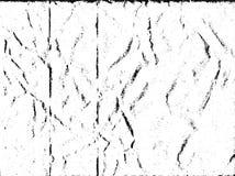 Vectortextuur van van gevouwen document voor achtergrond stock illustratie