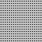 Vectortextuur van netwerk, rooster Zwart-wit naadloos patroon royalty-vrije illustratie
