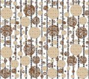 Vectortextuurachtergrond en textielpatroon Royalty-vrije Stock Foto