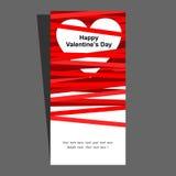 Vectorvakantieachtergrond met harten voor de Dag van Valentine Stock Foto's