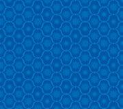 Vectorvakantiesneeuwvlokken op blauwe achtergrond vector illustratie