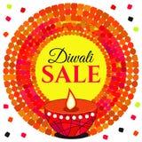 Vectorverkoop Diwali royalty-vrije illustratie