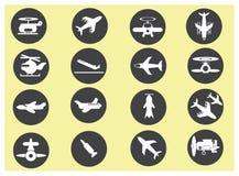 vectorvliegtuig Stock Fotografie