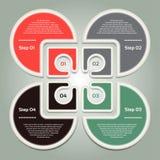 Vectorvooruitgangsachtergrond/Productkeus of Versie Stock Fotografie