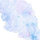 Vectorwaterverfachtergrond Stock Afbeeldingen