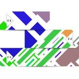 Vectorwebelement voor uw ontwerp Stock Afbeelding