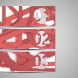 Vectorwebelement voor uw ontwerp Stock Foto's