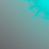 Vectorzon lichteffect Het licht van de lensgloed vector illustratie
