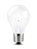 Vectot light bulb Royalty Free Stock Photos
