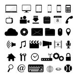 Vectour of various web icon Stock Image