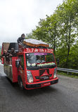 Veículo de Courtepaille - Tour de France 2014 Imagens de Stock