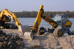 Veículos da construção Fotos de Stock Royalty Free
