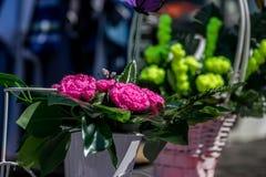 Veda ³ BÃ, Луго, Испания, 14-ое июля 2018: Ремесленничество справедливое Outrora Rubian стоковые фото