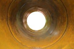 Veda attraverso il recipiente Fotografia Stock