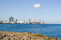 Vedado, Havana Bay Royalty Free Stock Photo