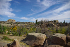 Vedauwoo Wyoming Arkivbilder