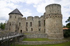 Vedensky slott Royaltyfria Foton