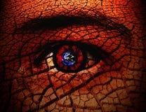 Vedere il mondo attraverso i miei occhi Immagini Stock Libere da Diritti