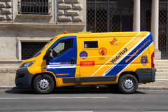 Vedetta 2 Mondialpol Service Group Armored Truck Royalty Free Stock Image