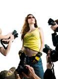 Vedette de film Photographie stock libre de droits