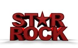 Vedette du rock Images libres de droits