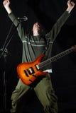 Vedette du rock de réussite Image libre de droits