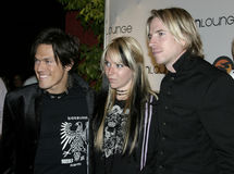 Vedette du rock : INXS Photos stock
