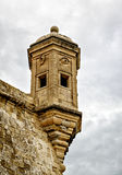Vedette watchtower, Malta. Eye and Ear Vedette watchtower, Senglea, Malta Royalty Free Stock Images