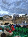 Круиз путешествия Vedettes Du Pont Neuf Стоковая Фотография