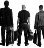 vedettes du rock Photos libres de droits