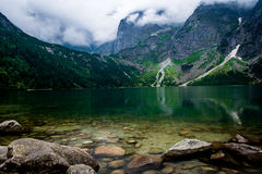 Vedi i moutains di Tatra dell'occhio Immagini Stock