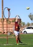 Custode di Quidditch: Cattura della palla   Fotografie Stock Libere da Diritti