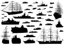 Vedi la barca su bianco Immagine Stock Libera da Diritti