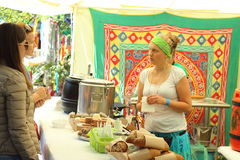 Vedic culture festival Stock Photography
