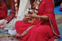 Vedic Hochzeit Lizenzfreies Stockfoto