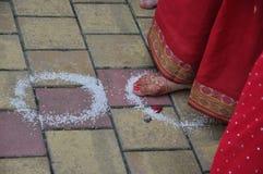 Vedic Hochzeit Stockfotos