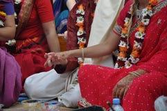 Vedic Hochzeit Lizenzfreie Stockfotografie