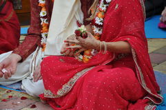 Vedic wedding Royalty Free Stock Photo