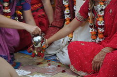 Vedic wedding Stock Photography