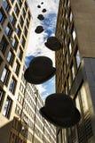 Vedove quadrate e Bowelers dei grattacieli fotografia stock libera da diritti
