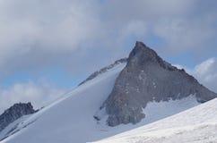 Vedretta di Pisgana, altitudine 3000m Fotografie Stock