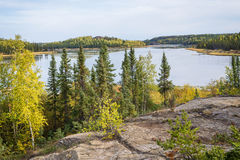 Vee λίμνη, Yellowknife 2 στοκ εικόνα με δικαίωμα ελεύθερης χρήσης